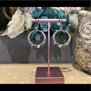 ✨4/$40✨ Fossil Vintage Silver Glitz Earrings
